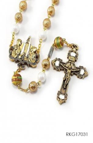 Rosary for the Family - Bohemian Glass
