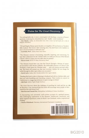 English Book - The Great Discovery : Our Journey to the Catolic Church