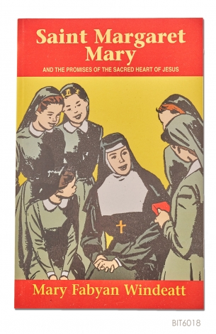 ENGLISH BOOK Saint Margaret Mary And the Promises of the Sacred Heart Of Jesus