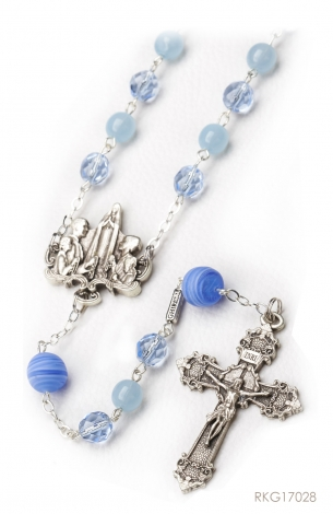 Rosary for Woman - Bohemian glass beads -